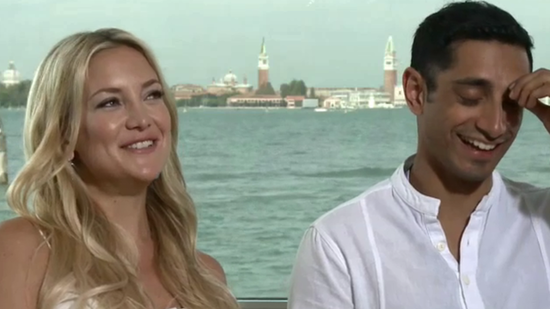 "Video: Kate Hudson Loves London — ""It's Important For Bing to Know He's British!"""