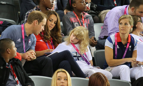 Prince William and Kate Middleton chatted with Louise Windsor.