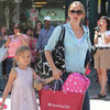 Jennifer Garner and Violet Affleck Shop at American Girl