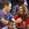 Kate Middleton and Prince William Pictures in Matching Sneakers at 2012 Paralympics
