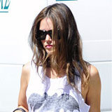 Super Stylish: Rachel Bilson Makes a Case For Cheeky Superhero Shirts