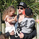 Celebrity Dads Pictures With Their Kids