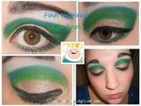 Adventure Time Finn Inspired Eye Look
