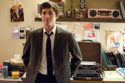 Logan Lerman Interview For Perks of Being a Wallflower