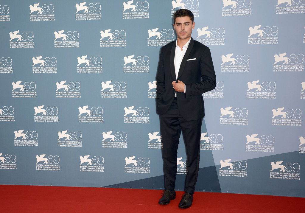 Zac Efron wore a suit to his At Any Price photocall at the Venice Film Festival.