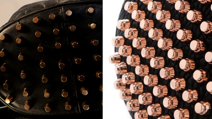 DIY: Studded Bucket Bag