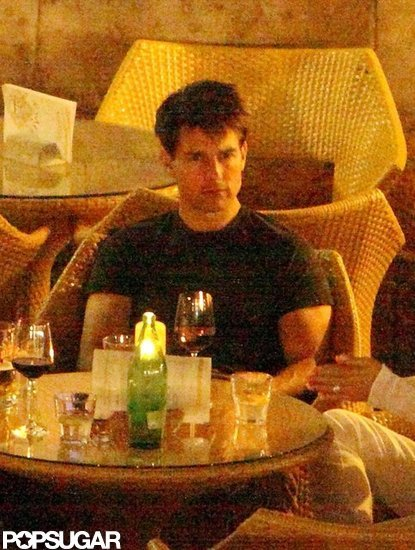 Tom Cruise Has Late Night Drinks With Friends During a Weekend in Croatia