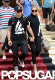 Jennifer Lopez and Casper Smart Have a Romantic Lunch in Miami
