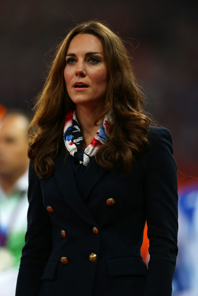 Kate Middleton sang at the Paralympics.