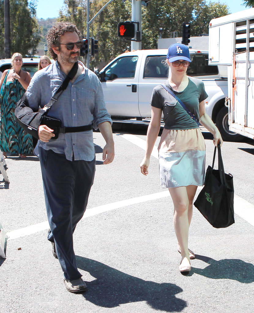 Rachel McAdams and Michael Sheen did some shopping in Studio City.