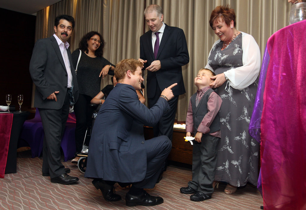 Prince Harry Attends His First Official Event Since Naked Pics Scandal