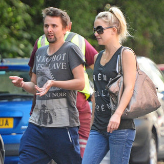Kate Hudson and Matthew Bellamy Walk in London | Pictures