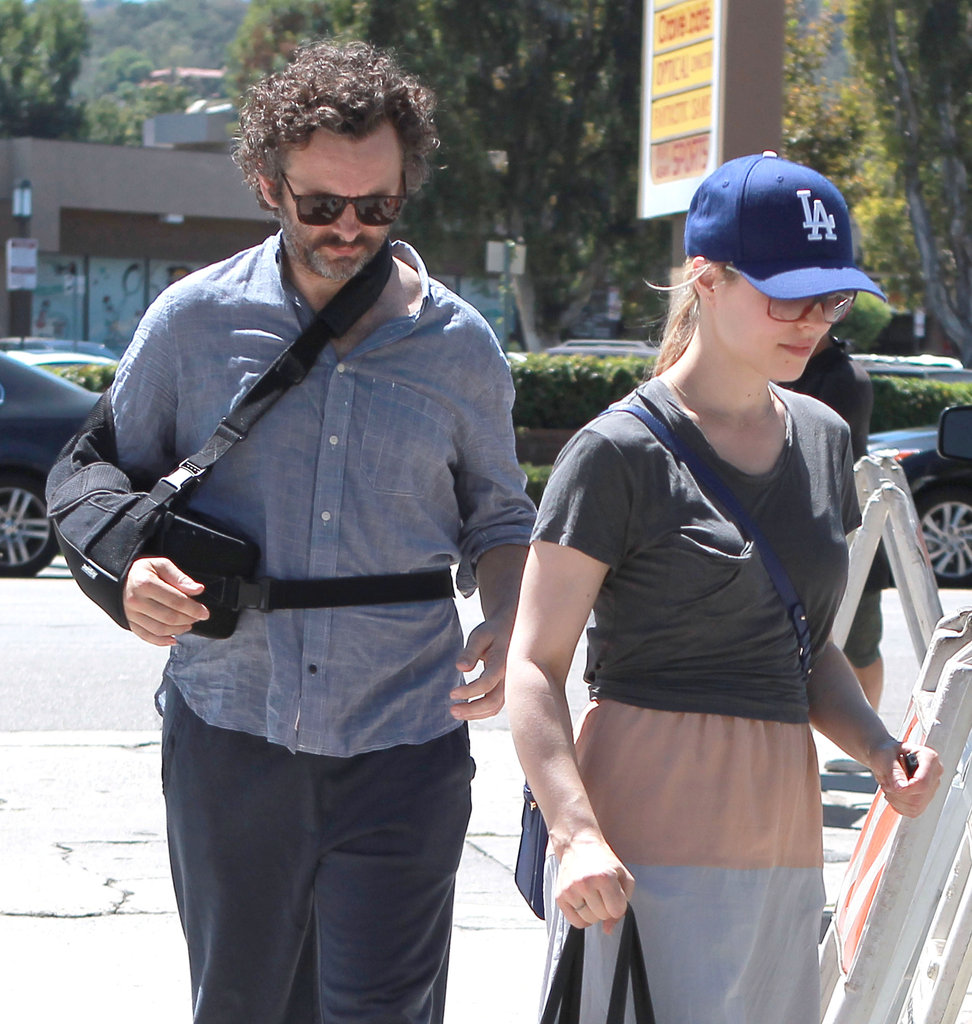 Rachel McAdams and Michael Sheen headed to the Studio City Farmers Market.