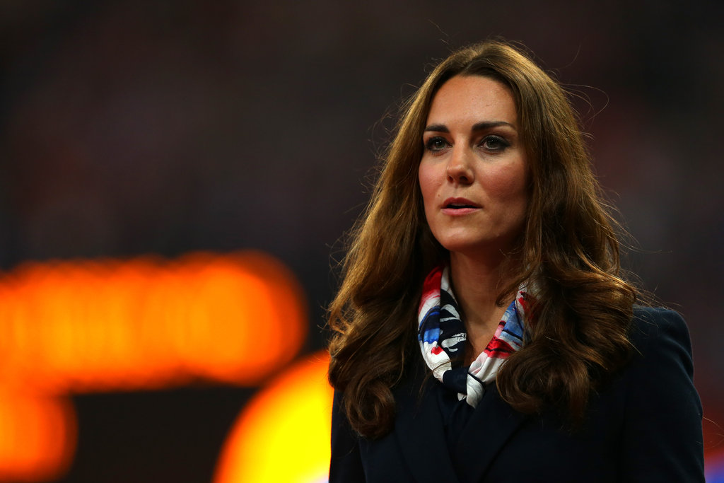 Kate Middleton attended a medal ceremony at the Paralympics.
