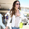 Kate Beckinsale's Neon Yellow Bag