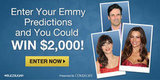 Predict the Emmy Winners and Win $2,000!