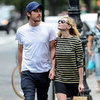 Kirsten Dunst and Boyfriend Garrett Hedlund in NYC