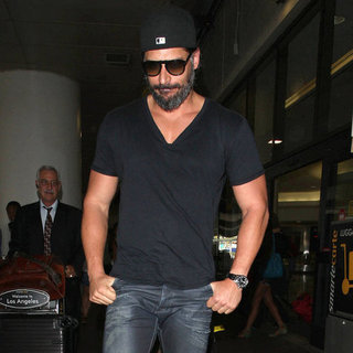 Joe Manganiello at LAX | Pictures