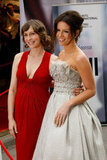 Pregnant Vera Farmiga made the trek to Toronto with her Nothing but the Truth costar Kate Beckinsale for their 2008 premiere.