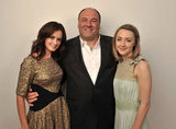 Violet & Daisy costars Alexis Bledel, James Gandolfini, and Saoirse Ronan posed for photos at the 2011 film festival.