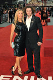 Aaron Taylor-Johnson and Sam Taylor-Johnson both rocked black at the premiere in London.