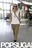 Gwyneth Paltrow headed out of the UK.