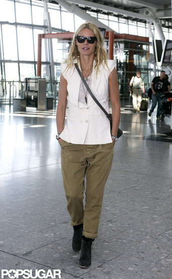 Gwyneth Paltrow's travel style was on display.