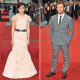 Keira Poses in Chanel With Jude at Anna Karenina's World Premiere