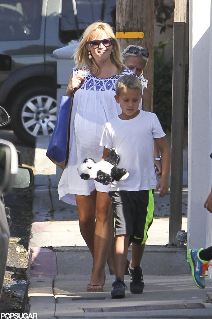Reese Witherspoon and son Deacon were out and about in LA.