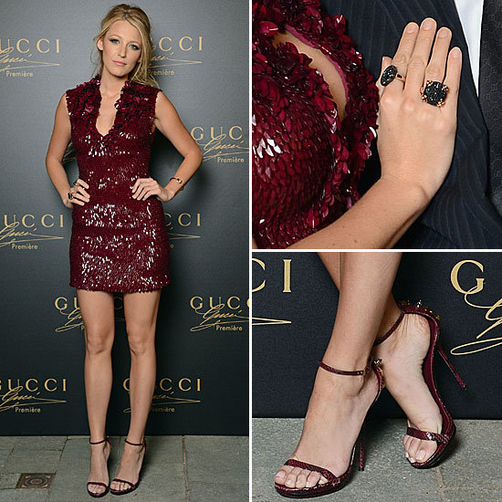 Blake Lively Proves Her Knockout Status (Yet Again) in Gucci