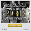 Create a Stylmx Board and Win a Trip to Paris Fashion Week!