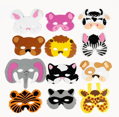 Foam Masks (12 for $10)