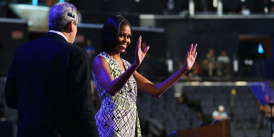"Michelle Obama: ""There Is So Much on the Line For Us as Women"""