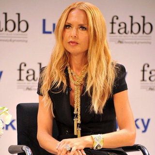Rachel Zoe During NY Fashion Week 2012