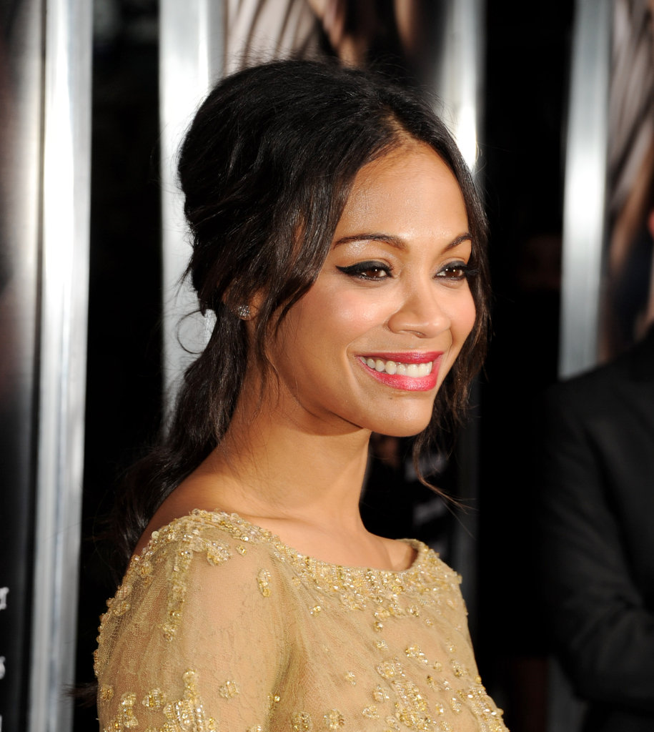 Zoe Saldana and Bradley Cooper Reunite For The Words