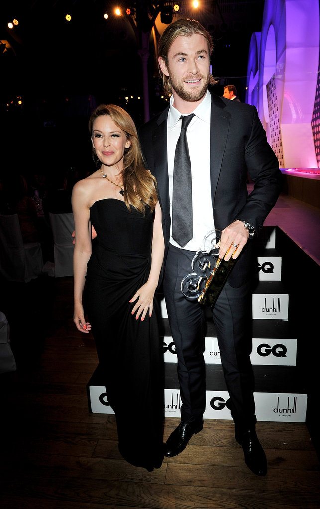 Kylie Minogue & Chris Hemsworth