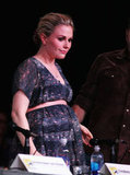 Anna Paquin's Belted Bump