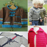 Snuggly Warm Handmade Sweaters For Tots