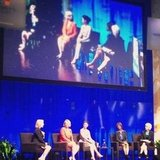 We also attended EMILY's List's panel with women like Ashley Judd and NY Senator Kirsten Gillibrand.