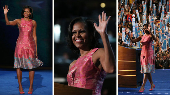 Video: See DNC Day One Highlights, Including Michelle's Sweet Speech