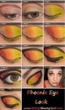 The Phoenix/Hunger Games Inspired Eye Tutorial