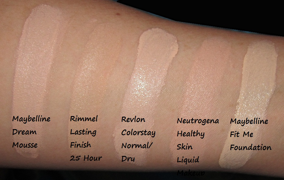 For  natural Dry 2013 liquid Foundation makeup Drugstore all Skin Best