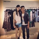 Prabal Gurung and Ming at Bergdorf's