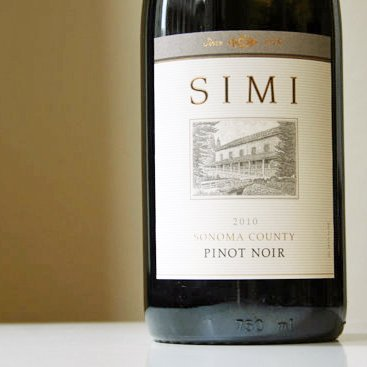 Simi 2010 Pinot Noir Review