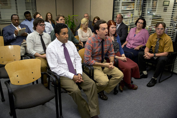 If I had to sum up The Office in one picture, it would probably be this.