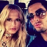 Joey Maalouf teamed up with Rachel Zoe to tackle FNO events in NYC.  Source: Instagram user joeymaalouf