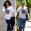 Kristen Stewart Wearing Robert Pattinson's Shirt (Video)
