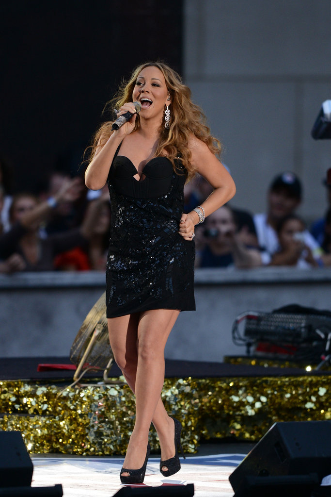 Mariah Carey and Gwen Stefani Kick Off the NFL Season