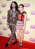 Emma Watson arrived at the VMAs with Ezra Miller.