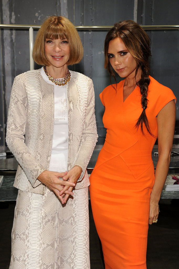 Victoria Beckham Is a Bright Sight at FNO